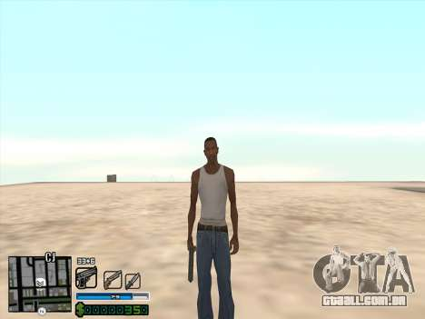 C-HUD by Stafford para GTA San Andreas terceira tela