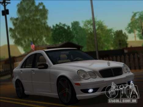Mercedes-Benz C32 AMG Vossen V1.0 2004 para GTA San Andreas
