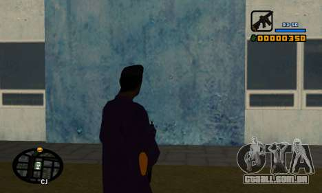 С-HUD por Cher para GTA San Andreas segunda tela