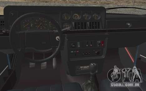 Volvo 242 Stance 1983 para GTA San Andreas vista traseira