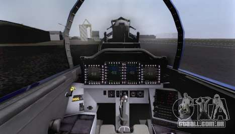 F-15S para GTA San Andreas vista inferior