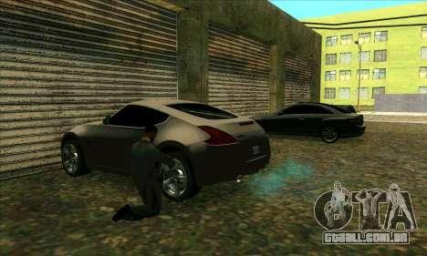 Serviço de carro do centro da Sijia em Las Ventu para GTA San Andreas segunda tela