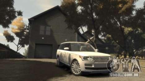 Range Rover Vogue 2014 para GTA 4 vista de volta