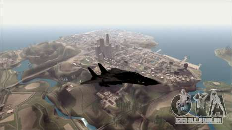Distance View Mod para GTA San Andreas