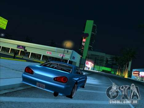 Elegy With a Pipe v1.2 para GTA San Andreas esquerda vista