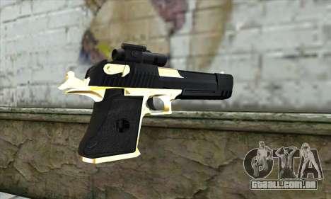Golden Desert Eagle para GTA San Andreas segunda tela