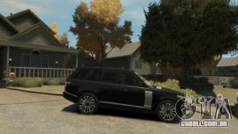 Range Rover Vogue 2014 para GTA 4 esquerda vista