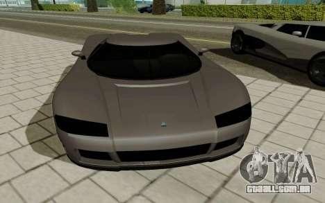 GTA 5 Overflod Entity XF para GTA San Andreas traseira esquerda vista