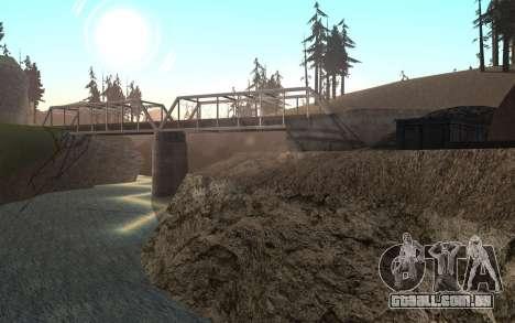 RoSA Project v1.4 Countryside SF para GTA San Andreas nono tela