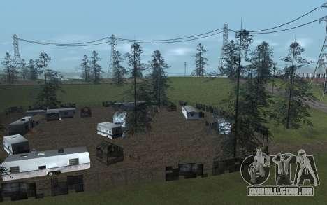 RoSA Project v1.4 Countryside SF para GTA San Andreas segunda tela