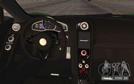McLaren 650S Spyder 2014 para GTA San Andreas vista direita