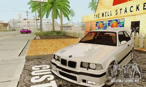 BMW E36 M3 1997 Stock para GTA San Andreas