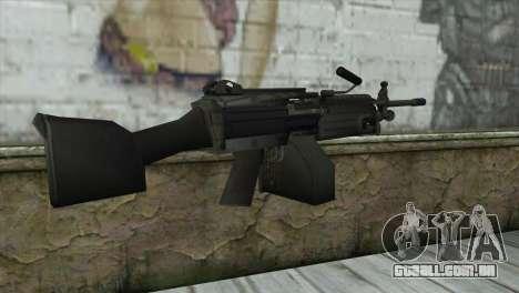 M249 SAW Machine Gun para GTA San Andreas segunda tela