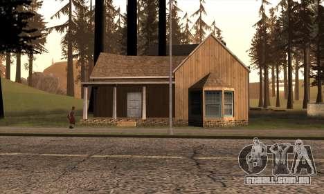 Nova casa do Sijia em Angel Pine para GTA San Andreas segunda tela