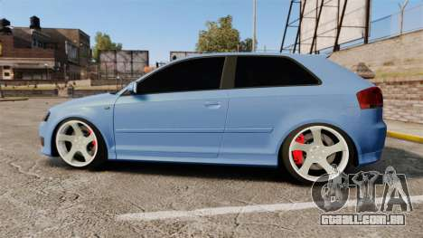 Audi S3 EmreAKIN Edition para GTA 4 esquerda vista