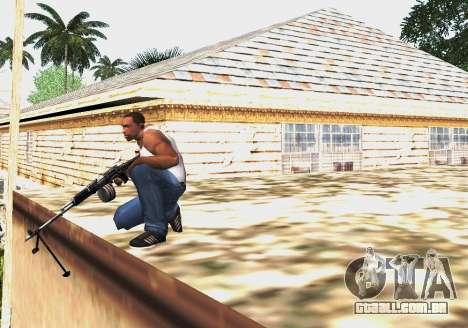 RPK-203 para GTA San Andreas quinto tela