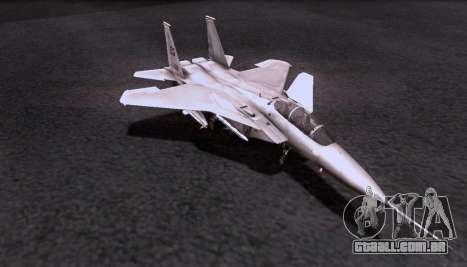 F-15S para GTA San Andreas vista traseira