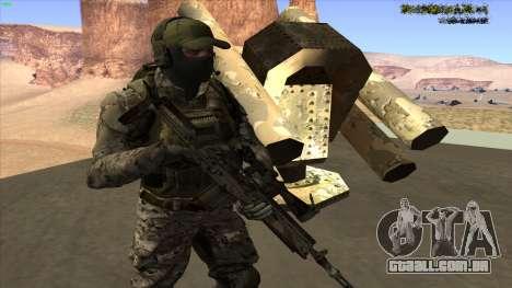 U.S. Navy Seal para GTA San Andreas por diante tela