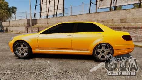 Benefactor Schafter 2014 para GTA 4 esquerda vista