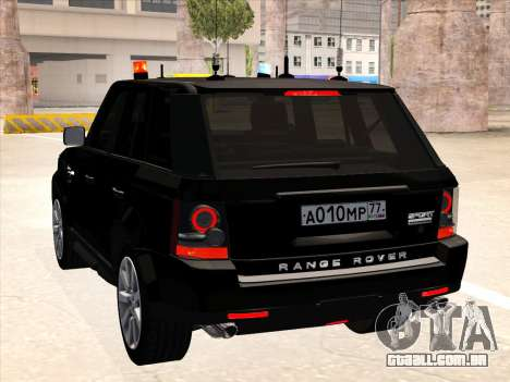 Range Rover Sport para GTA San Andreas vista direita