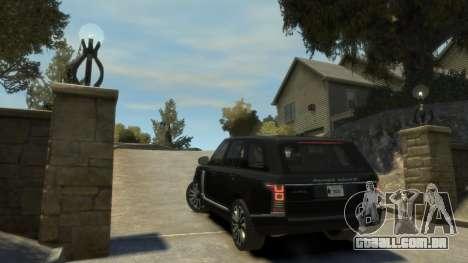 Range Rover Vogue 2014 para GTA 4 vista direita