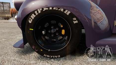 Dumont Type 47 para GTA 4 vista de volta