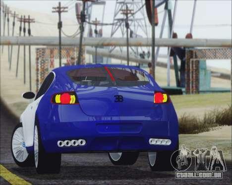 Bugatti Galibier 16c Final para GTA San Andreas esquerda vista