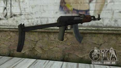 AKM Assault Rifle para GTA San Andreas segunda tela