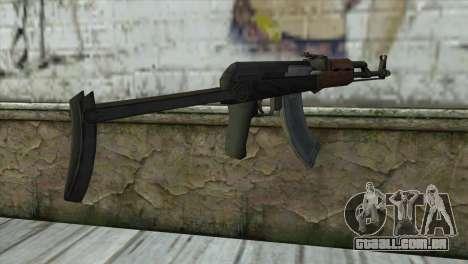 AKM Assault Rifle para GTA San Andreas segunda tela