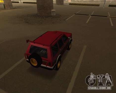 Landstalker V2 para GTA San Andreas vista direita