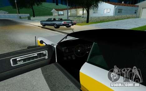 Albany Buccaneer из GTA 5 para GTA San Andreas traseira esquerda vista