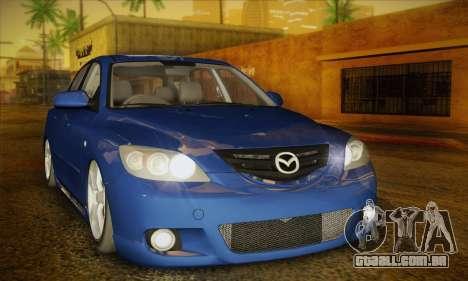 Mazda Axela Sport 2005 para GTA San Andreas
