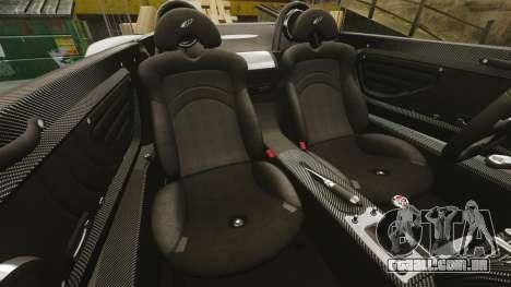 Pagani Zonda C12 S Roadster 2001 PJ5 para GTA 4 vista lateral