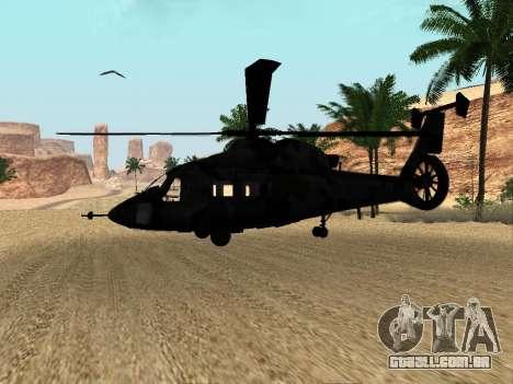 KA-60 para GTA San Andreas vista interior
