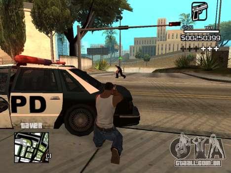C-HUD By Kapo para GTA San Andreas oitavo tela