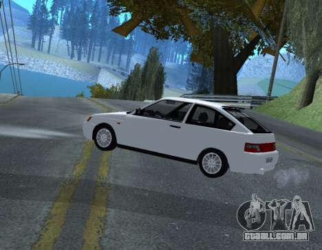 ВАЗ 2112 GVR Versão 1.1 para GTA San Andreas esquerda vista