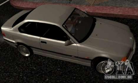 BMW M3 E36 Hellafail para GTA San Andreas esquerda vista