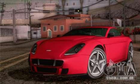 GTA V Rapid GT para GTA San Andreas