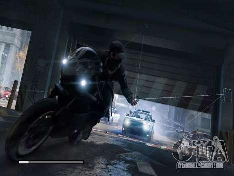 Arranque telas e menus de Watch Dogs para GTA San Andreas décima primeira imagem de tela