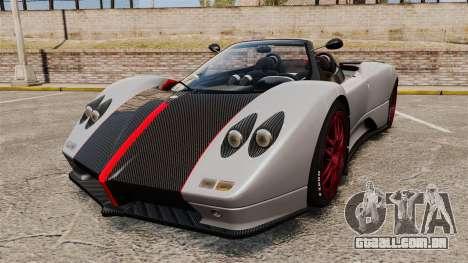 Pagani Zonda C12 S Roadster 2001 PJ5 para GTA 4