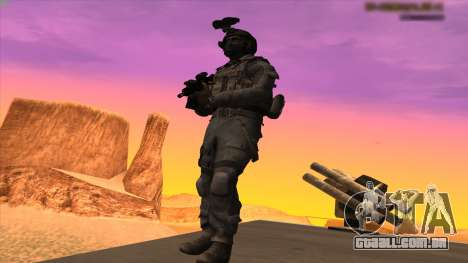 Sgt Keegan P.Russ из Call Of Duty: Ghosts para GTA San Andreas quinto tela