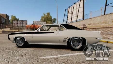 Chevrolet Camaro SS para GTA 4 esquerda vista