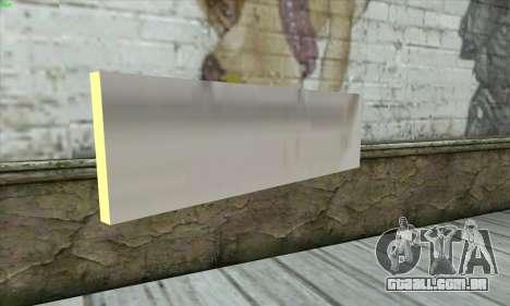 Tastatur Waffe para GTA San Andreas segunda tela