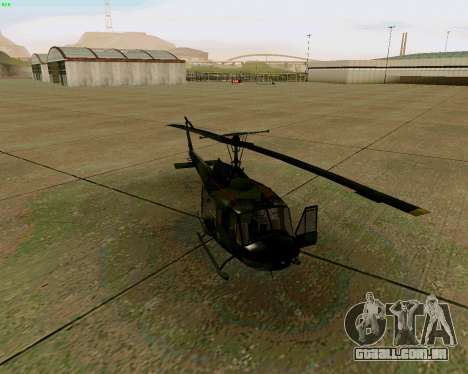 UH-1D Huey para GTA San Andreas