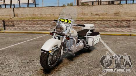 GTA V Western Motorcycle Police Bike para GTA 4