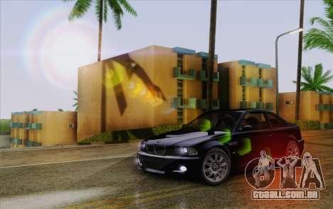 IMFX Lensflare v2 para GTA San Andreas quinto tela
