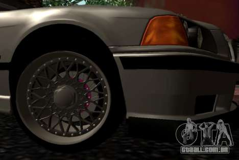 BMW M3 E36 Hellafail para GTA San Andreas vista direita