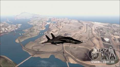Distance View Mod para GTA San Andreas por diante tela