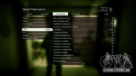 GTA 5 GTA 5 0% e 2 bilhões de + todos bombeado sétima screenshot