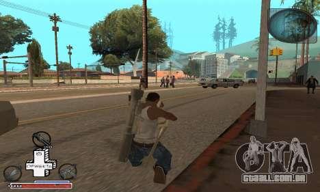 Belo C-HUD para GTA San Andreas terceira tela